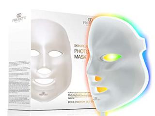 Colorful lED Beauty Mask   Neutral