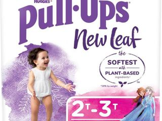 Huggies Pull Ups New leaf Girls  Training Pants   Size 2T 3T   76ct