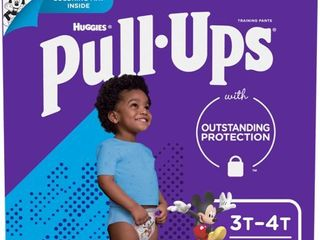 Pull Ups Boys  learning Designs Training Pants  3T 4T  84 Ct