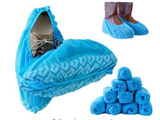 Blue Shoe Guys   Blue Shoe Covers