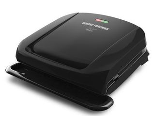 George Foreman GRP1060B 4 Serving Removable Plate Grill  Black
