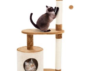 Petmaker   Cat Tower   Brown Cream