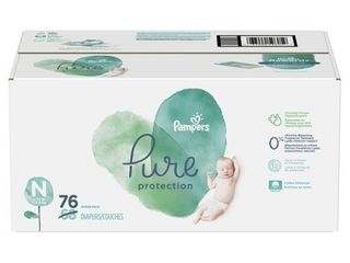 Pampers Pure Protection Diapers Super Pack   Newborn   68ct