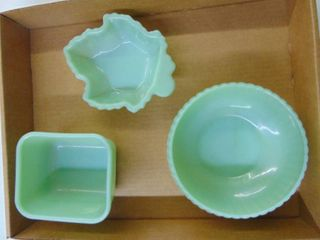 Fire King Jadeite Misc  Dishes