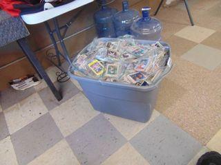HUGE tub full of baseball cards