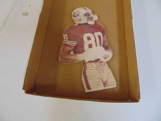 Jerry Rice Cut out