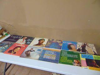 1 dozen record albums