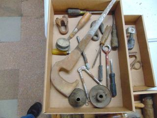 Vintage tools and Funnel