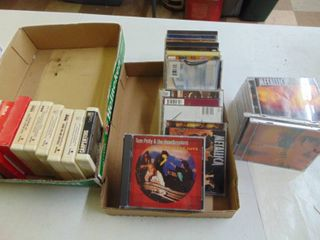 8 Track Tapes   CD Cases ONlY