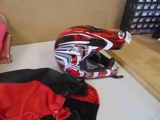 Motorcycle helmet Bilt Jr  large Youth