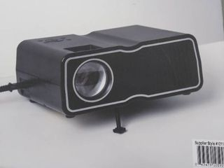 Sharper Image Portable Entertainment Projector Hdmi