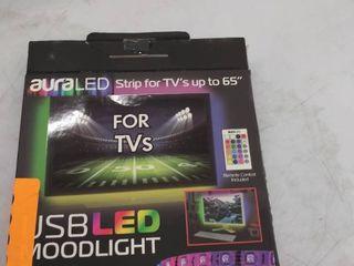 aura led light strip  no remote