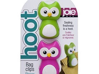 Joie Hoot Owl Themed Mini Food Storage Chip Bag Clips