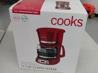 Cooks 12 Cup Coffee Maker