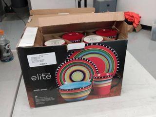 Gibson Elite Plateware Set