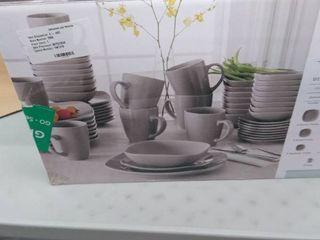 Oren stoneware dinnerware set