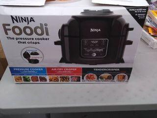 Ninja Foodi TenderCrisp Pressure Cooker   OP301  Black