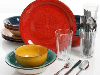 Gibson Infinite Glaze Dinnerware Set