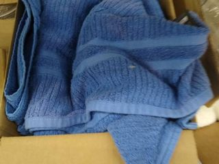 miscellaneous box of towels