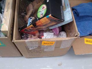 Miscellaneous box of toys