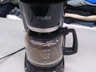 Cooks used coffee maker