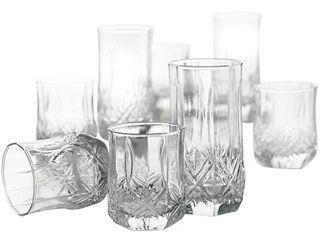 luminarc Brighton 16 pc  Glassware Set