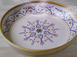 Pasta serving bowl 14 1 4 in