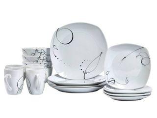 Porcelain Pescara Dinnerware Set   Tabletops Gallery