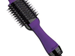 Revlon One Step Hair Dryer   Volumizer Hot Air Brush  Purple  RVDR5222PUR