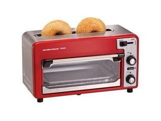 Hamilton Beach Toastation Toaster   Oven   Red