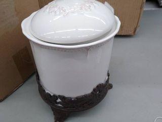 2piece decorative jars