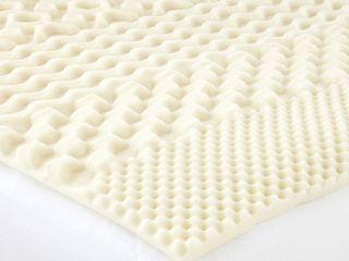 Isotonic 7 Zone 1 frac12  Memory Foam Mattress Topper