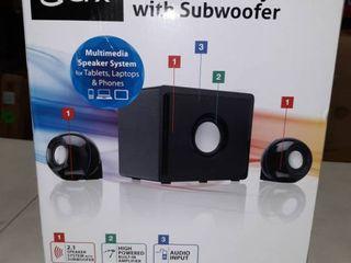 2 1 Speaker System with Subwoofer