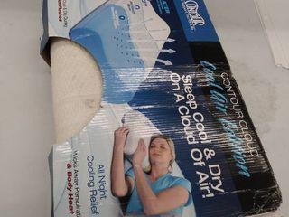 Cool Air Memory Foam Pillow  dirty