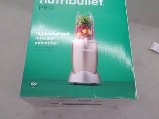 NutriBullet Pro Single Serve Blender 900W   Gold