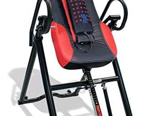 Health Gear ITM5500 Advanced Technology Inversion Table With Vibro Massage   Heat   Heavy Duty up to 300 lbs