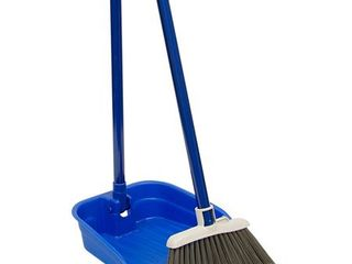 Quickie Stand with Store lobby Broom and Dustpan