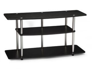 Convenience Concepts Designs2Go No Tools 3 Tier Wide TV Stand  Multiple Colors