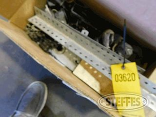3 Boxes of asst garage door parts 1 jpg