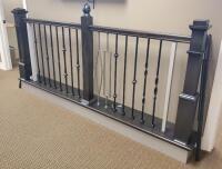 WM Coffman Stair Parts Display  103  x 49  x 12