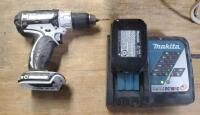 Makita 18 Volt Cordless 1 2  Driver With Battery And Charger