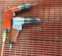 Husky 3 8  Pneumatic Reversible Drill  And Sioux Pneumatic Drill
