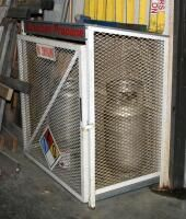 Metal liquid Petroleum Safety Cage  50  x 42  x 28  Tanks Not Included