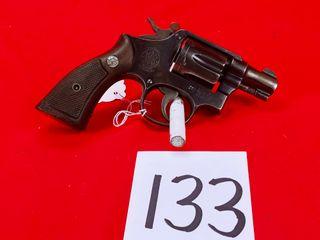 S W Snub Nose 38 Spl  SN 120700  Handgun
