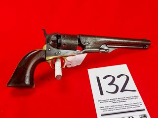Colt 1861 Navy  36 Cal  Percussion  SN 13041  Exempt