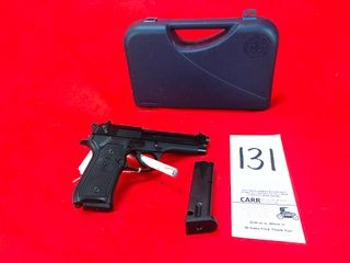 Beretta 92FS  9mm  SN BER509522 w Box   Extra Mag  Handgun