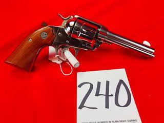 Ruger Vaquero 357 Mag  Nickel  4 1 2  Bbl  SN 58 80122  Handgun