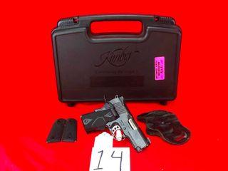 Kimber Ultra Carry II  45 ACP w Crimson Trace laser Grip  SN KU84532 w Box  Handgun