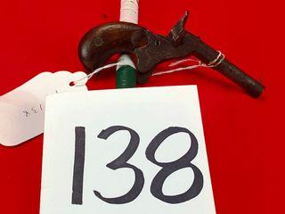 Antique 22 Derringer Single Shot  Exempt