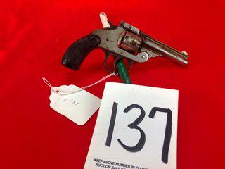 Iver Johnson Cycle Works Tip Up  32 Cal   Handgun